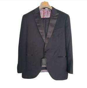 NWT Tailor Square Black Tuxedo Dinner Suit
